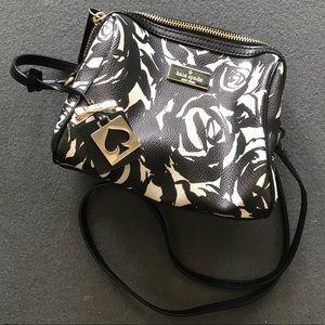 Kate Spade Printed Rose Crossbody Bag
